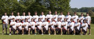 Das dt. Open Ultimate-Nationalteam Inside Rakete 2012