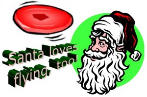 Santa-loves-flying