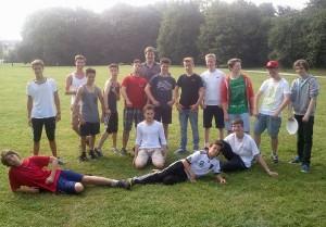 Frisbee-Projektgruppe_EKG2013