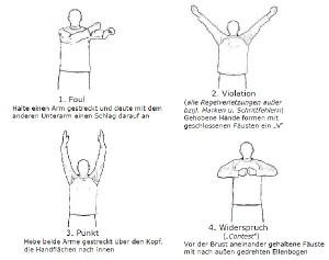 Handzeichen-Neu